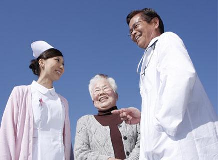 写真:医療施設との連携